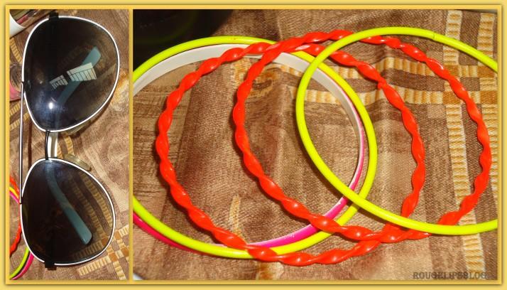 Neon Bangle Bracelets!!